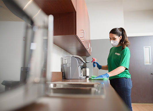 commercial cleaning in Colorado Springs, CO